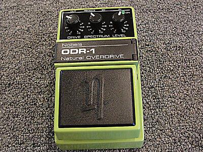 Nobels ODR-1 Natural Overdrive Guitar Effects Pedal 2017