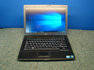 DELL LATITUDE E6410 LAPTOP WINDOWS 10 WIFI INTEL I5-M560 4GB RAM 250GB SILVER