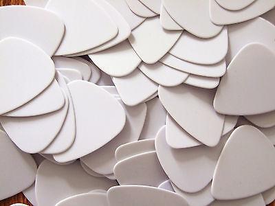 5000pcs 0.71mm Mellifluous Accessories White Guitar Picks Guitar Plectrums