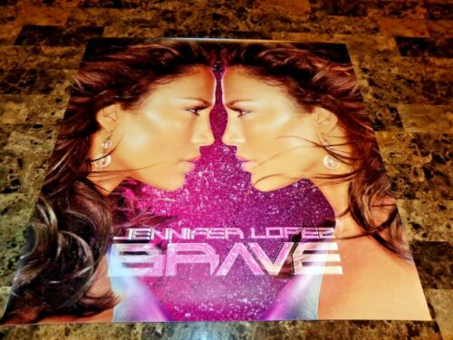 Jennifer Lopez Full Color Poster Brave Promo American Idol Actress Free Shipping