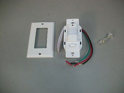 Hubbell Rms141w Pir Occupancy Light Switch Motion Sensor -new In Box