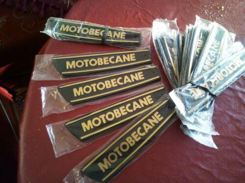 Monogramme de réservoirs Mobylette Motobecane