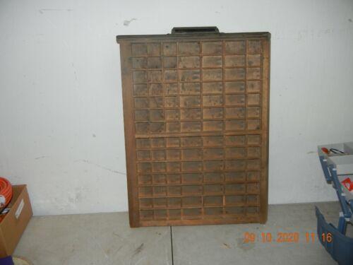 Ludlow type tray