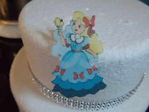 12-PRECUT-Princess-Edible-wafer-rice-paper-cake-cupcake-toppers