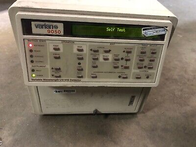 Varian 9050 Uv-vis Detector Variable Wavelength Hplc Liquid Chromatography-y