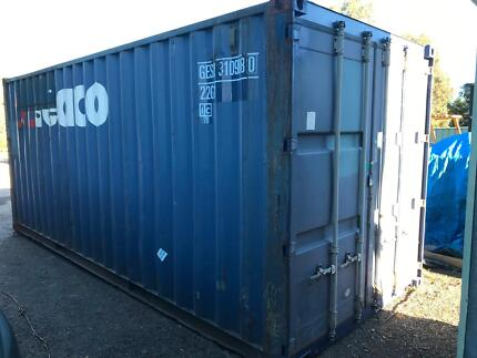 20FT SHIPPING CONTAINER Kyneton Macedon Ranges Preview