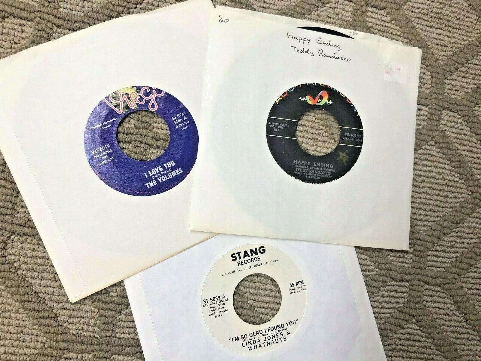 Rare Lot SOUL FUNK N.SOUL 7 45 s Vinyl Records - $11.07