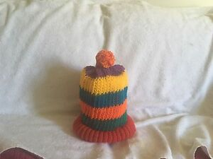Unisex Rainbow Ponytail Hats or Toques