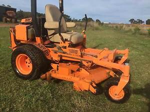 SCAG Commercial Heavy Duty Zero turn Ride on Mower, slasher, Barwon Heads Outer Geelong Preview