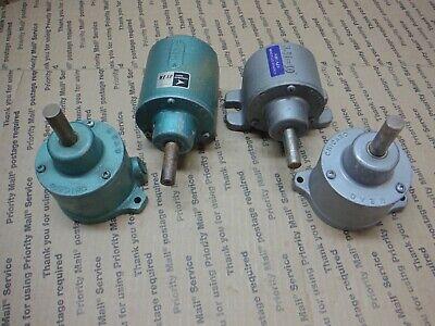 Mead Chicago Fluid Dynamics Aluminum Cylinder 12 Shank Lot Of 4 Stk40