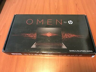 "SEALED HP Omen Gaming Laptop 15-AX250WM 15.6"" i7, GTX 1050Ti 4GB, 12GB 1TB HDD"