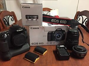 Canon EOS 60D and more.