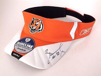 Rey Maualuga SIGNED Adjustable NFL Hat/Visor - Reebok Official Sideline Headwear