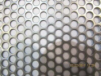 14 Holes 16 Gauge 304 Stainless Steel Perforated Sheet--12 X 17