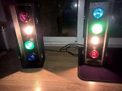 SOUNDLAB G005FB Disco, DJ, Party or Live Band Sound to Light Portable System x 8