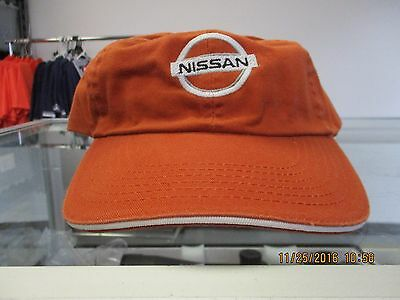 NISSAN-UT BURNT ORANGE UNSTRUCTURED CAP-NISSAN LOGO FRONT-LONGHORN LOGO ON BACK Ut Burnt Orange