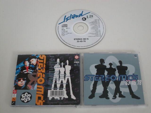 STEREO MC´S/33 45 78(4TH & BROADWAY-ISLAND-GEE STREET 260 055) CD ALBUM