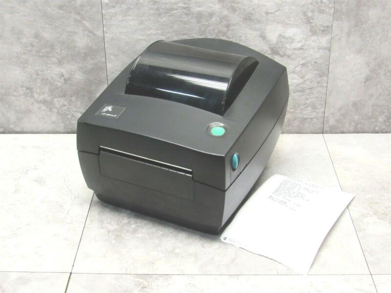 Zebra LP2844-P Barcode Label Printer w/ Serial & Powered USB POS Interface