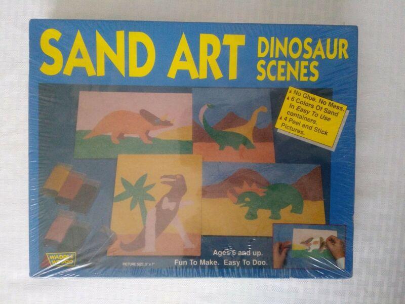 Sand Art Dinosaur Scenes Ages 6+