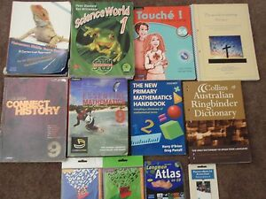 Various Year 7,8,9,10,11,12 TEXTBOOKS Gwelup Stirling Area Preview