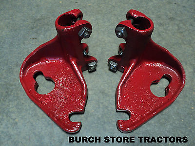 New Pair Of Farmall Back Rear Cultivator Bar Mounts 140 130 Super A 100
