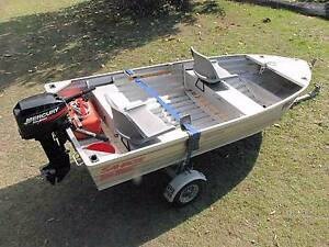 Car Topper Tinny, 15 hp outboard, Plus Folding Trailer. Tyndale Clarence Valley Preview