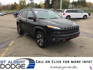 2016 Jeep Cherokee Trailhawk | LEATHER | HEATED SEATS | BACK CAM