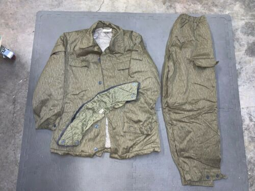 Vintage East German NVA Military Army Rain Drop Uniform COLD WEATHER SIZE S 48