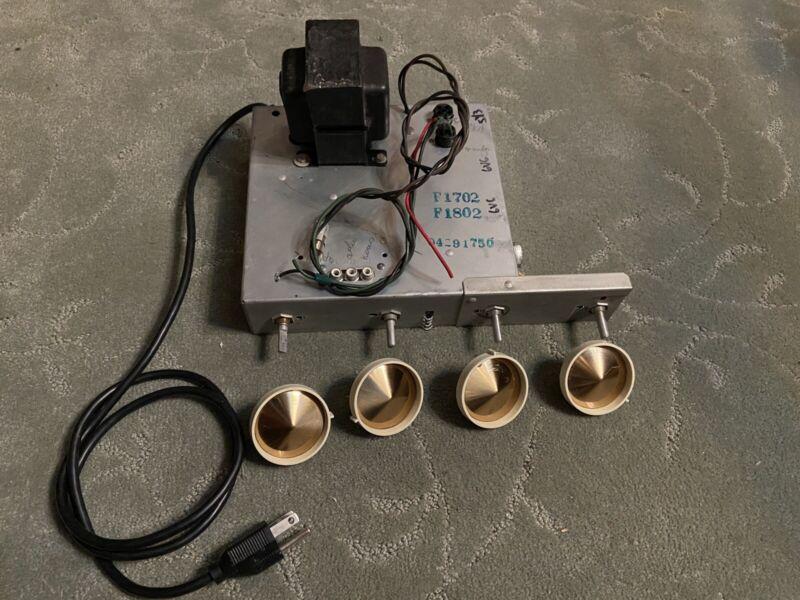 Vintage Philco 6v6 Radio Guitar Amplifier - 3 Prong Conversion