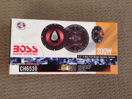 Boss car audio speakers  Stirling Stirling Area Preview
