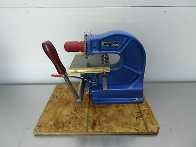 Numberall Stamp And Tool 40b Stamping Machine Numbering Lettering Press 532
