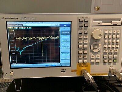 Agilent E5071b Ena Rf 2 Port Network Analyzer - 300 Khz To 8.5 Ghz