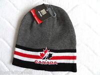 Official Ice Hockey Canada Dark Grey Beanie Tuque Unisex Osfa Hat Tags - ice hockey canada official merchandise - ebay.co.uk
