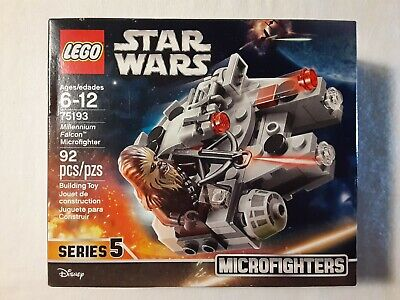 New LEGO 75193 Star Wars Millennium Falcon Microfighter Series 5 Chewbacca