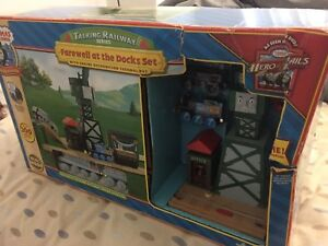 Thomas & Friends Wooden Railway - Farewell at the Docks - NEW