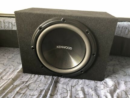 """KENWOOD 12"""" 1200W SUBWOOFER IN BOX"""