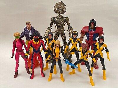 Marvel Legends New Mutants X-Force Lot Warlock BAF Dani Moonstar Custom Magik