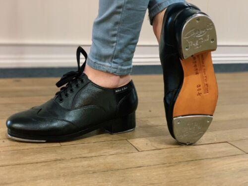 NEW Miller & Ben Tap Shoes (Jazz Tap Master Style) FREE SHIPPING