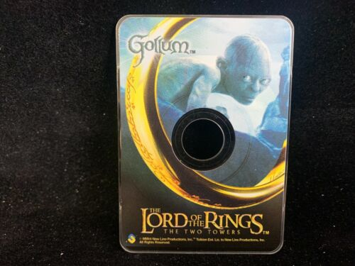 2003 CD CARDZ THE LORD OF THE RINGS TWO TOWERS GOLLUM LIMITED EDITION PROMO LM