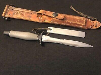 1971 Vietnam War Gerber Mark II Fighting Knife -Mk 2 Combat/Collection #22717/lw