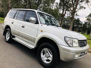 2001 Toyota Landcruiser Prado TX 4x4 Auto 8Seater Diesel Turbo