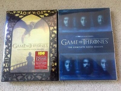 Game Of Thrones Seasons 5   6 Dvd Combo Free Shipping