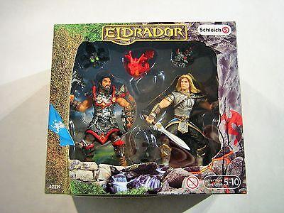 SCHLEICH 42219 ELDRADOR -- Berserker mit Kerkertieren - Ritter Figur SET OVP