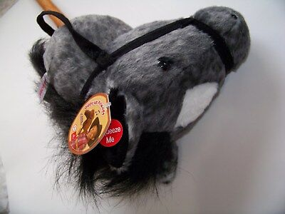Stick Horse Toy (Aurora World Hobby Horse Stick Horse Neigh & Gallop Sounds Toy Gray)