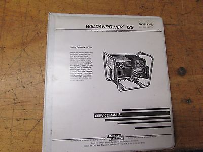 Lincoln Electric Weldanpower 125 Service Manual