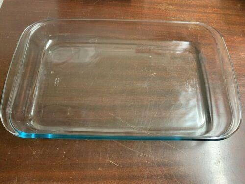 Marinex 9x13 Casserole Dish Clear Glass Rectangular OvenWare M-09
