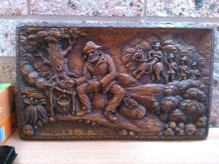 Antique Hand carvings for sale Wyee Lake Macquarie Area Preview