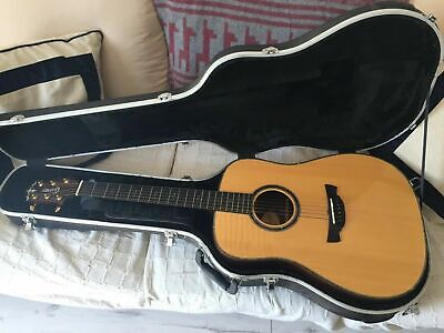 Crafter DLX-4000/RS Acoustic Guitar Special Ed. w/ Hard Case and Shoulder Strap