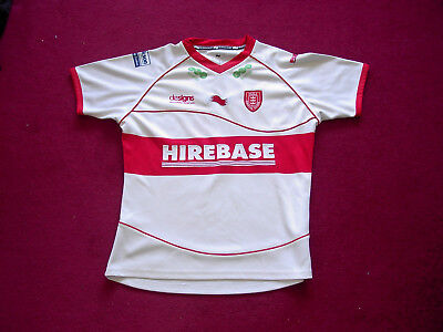 Burrda Hull Kingston Rovers Rugby League Shirt/top/jersey/ladies size 14