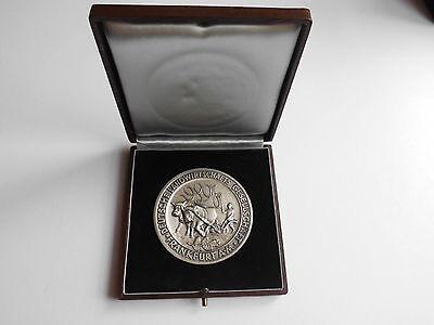 Deutsche Landwirtschafts-Gesellschaft Frankfurt a. M. 1962 Medaille, groß #MM028